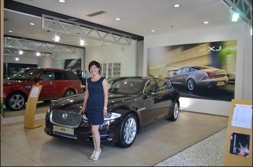 访山西路华捷豹路虎4s店总经理杨苈女士_太原车市_网
