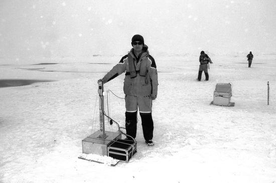 窦银科首次参加北极科考