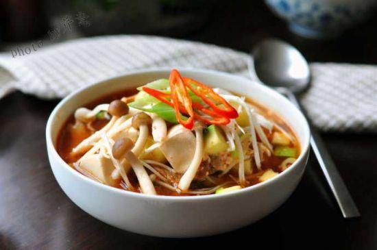 韩式暖身汤