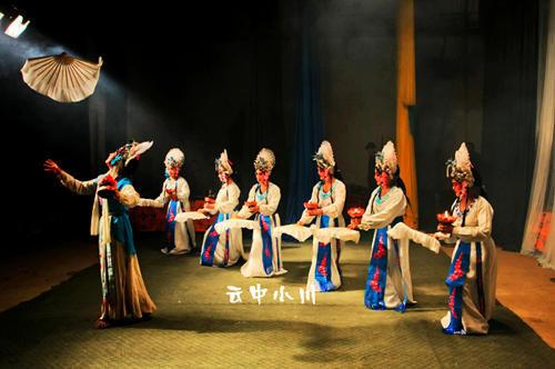 雁北耍孩儿传统(图/云中小川)