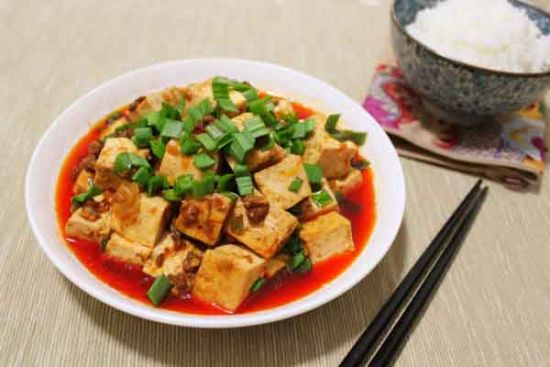 牛肉酱烧豆腐