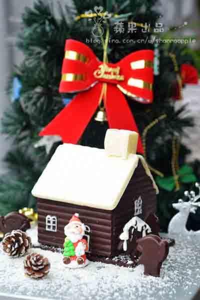 圣诞巧克力屋