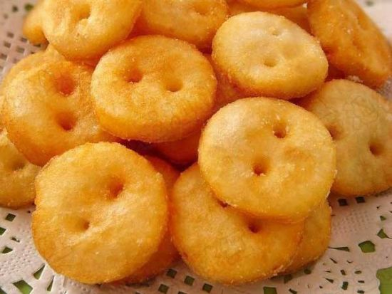 纽扣土豆饼