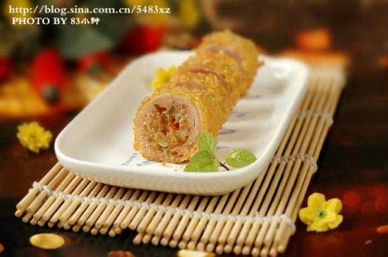黄金鸡肉卷