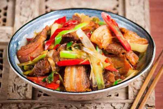 京葱回锅肉