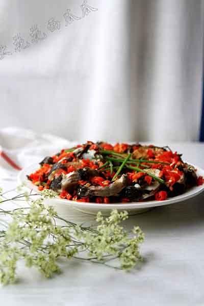 剁椒芽菜鱼扇