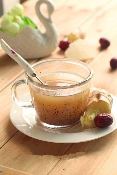 冬日暖身姜枣茶