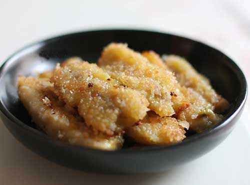 自制香甜可口小吃脆皮香蕉