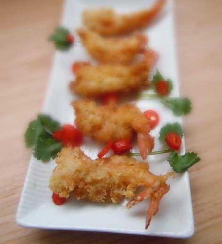 香酥可口小朋友最爱的虾排