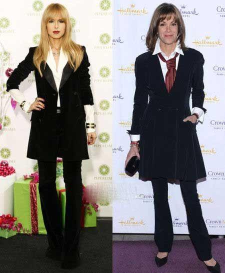 (左)好萊塢當紅造型師瑞秋·佐伊 (Rachel Zoe)(右)女星凱蒂·勒克萊爾(Katie LeClerc)