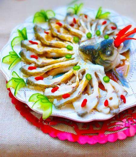 年菜之花开富贵 大富大贵开屏鱼