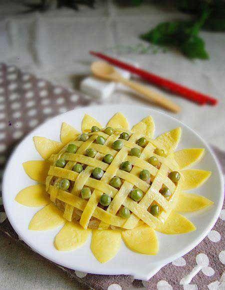 花样米饭 向日葵蛋包饭