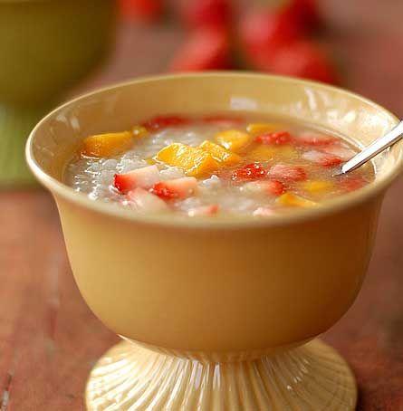 自制健康营养水果甜饭