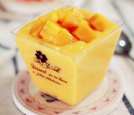 零难度自制美味甜品芒果酸奶杯