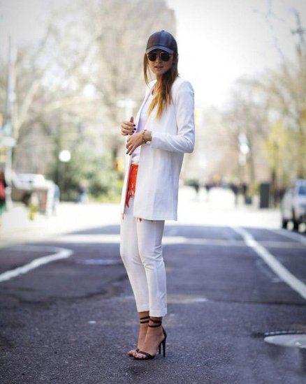 要穿就穿全白色