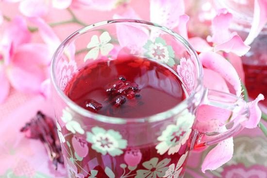 洛神鲜果罗汉茶