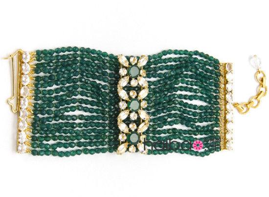 推荐搭配:绿玛瑙手镯 价格:1,155美元