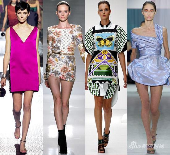 T台示范:Lavine,Balmain,Mary Katrantzou,Dior