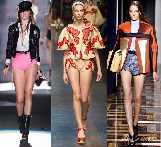 T台示范:Dsquared2,Dolce & Gabbana,Balenciaga