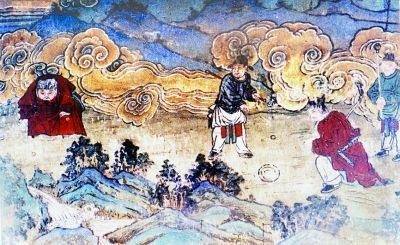 中华文化艺术瑰宝 洪洞广胜寺水神庙元代壁画