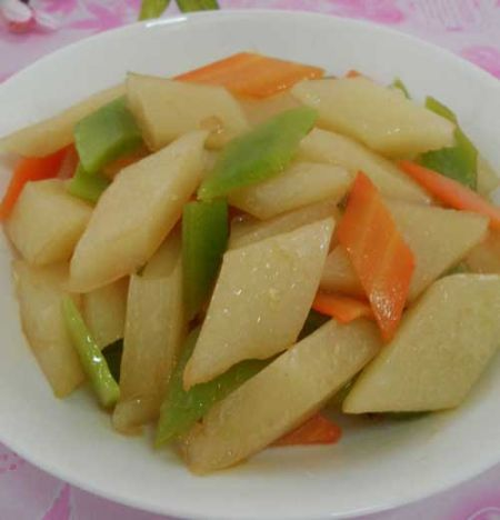 吕梁地区临县的最典型特色美食炒恶