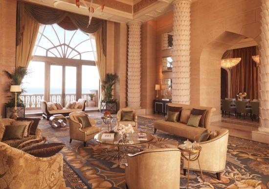 亚特兰蒂斯度假酒店皇家天桥套房