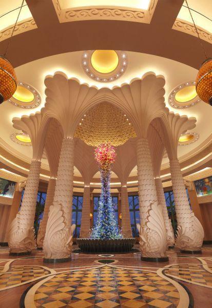 棕榈岛亚特兰蒂斯度假酒店大堂