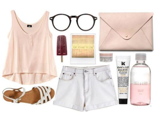 时髦女生夏日穿衣清凉实用搭配手册