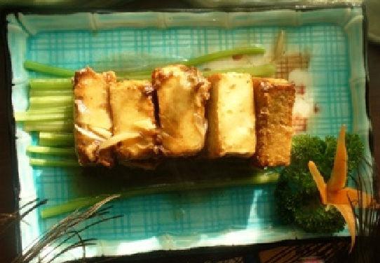 祇善园特色菜竹排豆腐