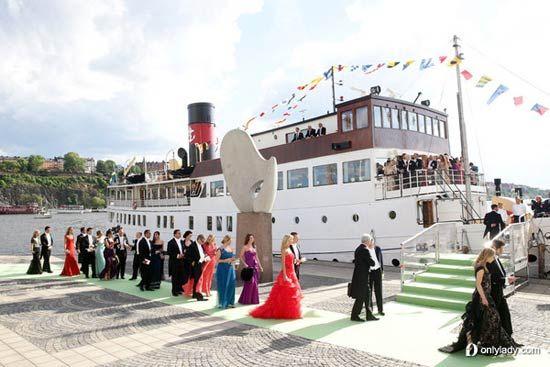 瑞典公主玛德琳 (Princess Madeleine) 与丈夫Christopher O'Neill的婚礼现场