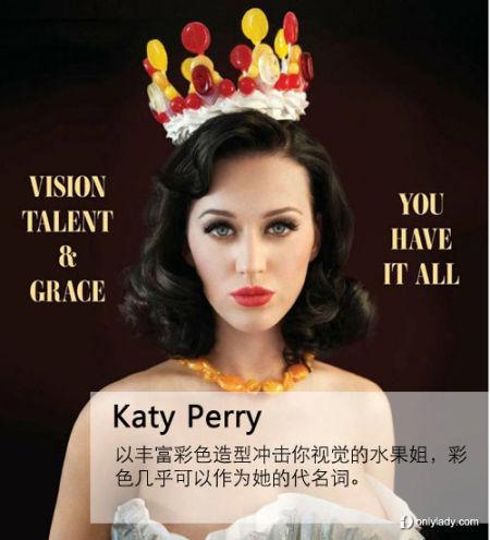Katy Perry素颜