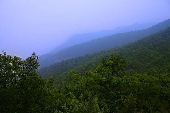 养生源俯瞰群山