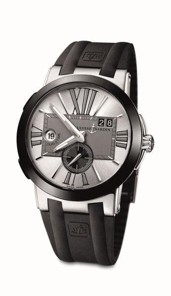 雅典表经理人双时区腕表