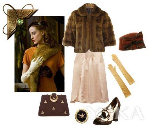 从弹钢琴到女高音歌唱家,她精心设计了自己的每一个时尚Look