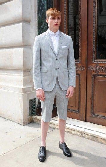 短裤成为都市男的最强夏装