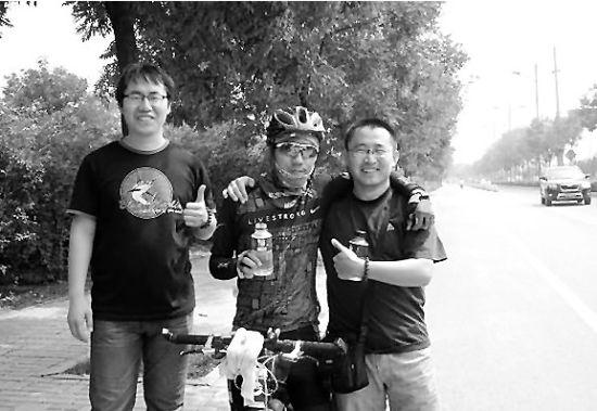 山西籍大学生骑行25天3000公里从三亚回家