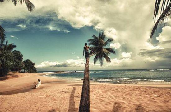 斯里兰卡独有的海陆双重风情,只有真正来到这里的人才能感受到