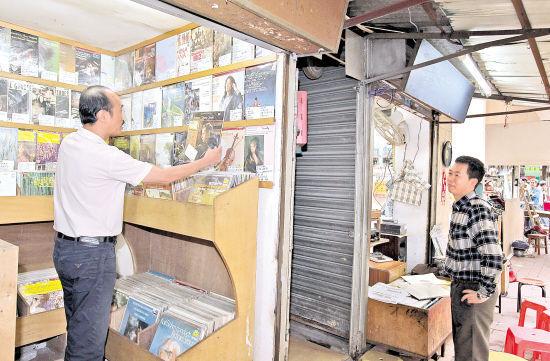 广州陶街是国内最大的黑胶唱片集散地