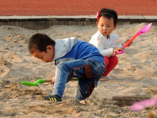 晋中公园:儿童沙地重拾快乐