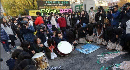 韩国今日迎来高考
