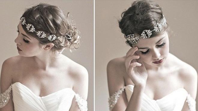秋冬新娘发饰打造妩媚优雅的女神形象
