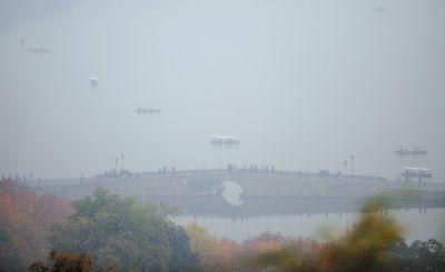 雾霾影响的天气