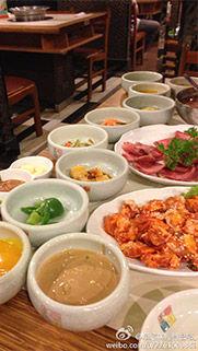 韩国料理深得我胃