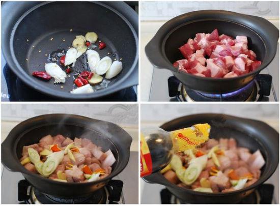 水面筋烧肉做法