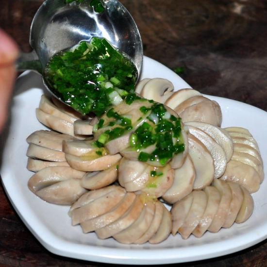 葱油扇面蘑菇做法