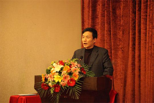 李程明在摄影协会上的演讲