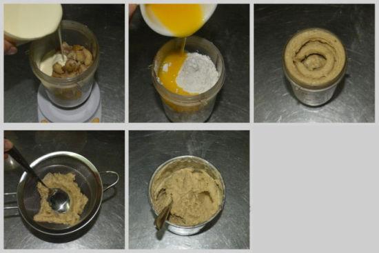 奶油栗子蛋糕做法