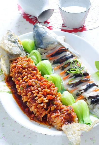山东整鱼两吃:年夜饭必不可少的重磅菜