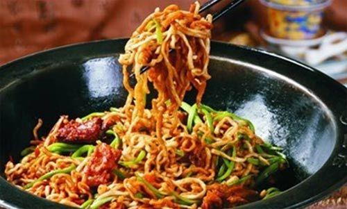 涿鹿特色美食•乡土居的焖面