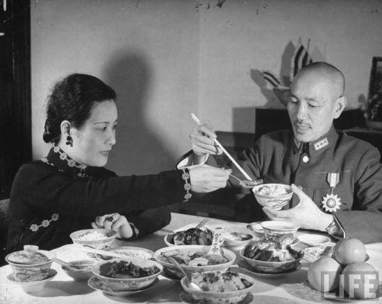 宋美龄和蒋介石